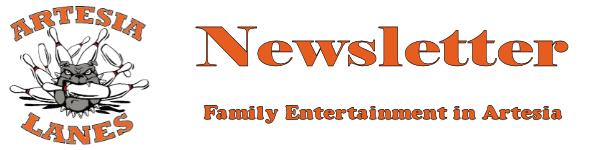 Artesia Lanes Newsletter