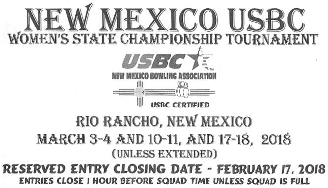 USBC Women's State Championships